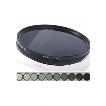Slim Fader ND Filter 77mm Variable Adjustable ND2-ND400 Filter