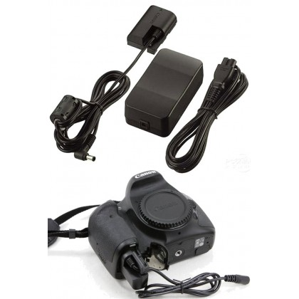 AC Power Adapter ACK-E6 Direct Power for Canon EOS 5D MK III 6D 7D 60D 70D