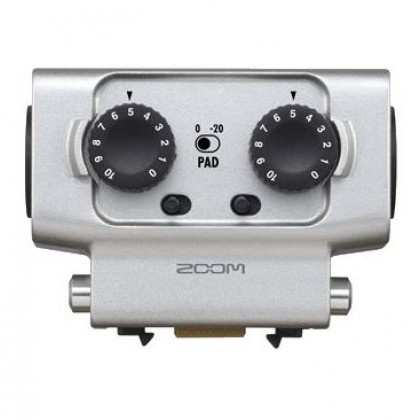 Zoom Dual XLR/TRS Input Capsule EXH-6 for the Zoom H5 H6 U-44 F4 F8 EXH6