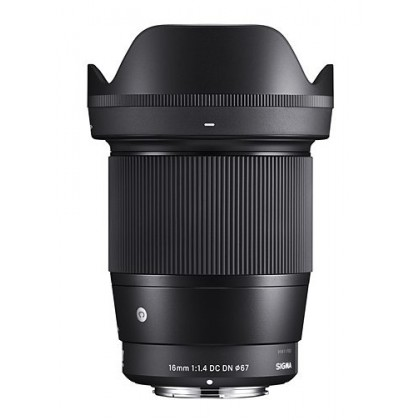 Offer Sigma 16mm f/1.4 DC DN Contemporary Lens for Sony E Mount (MSIA)
