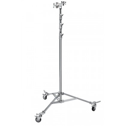 Avenger Overhead Stand 58 steel with braked wheels A3058CS