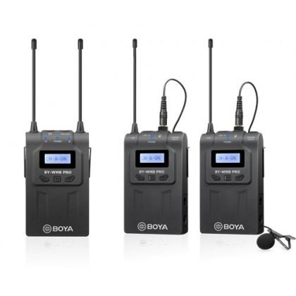 Boya BY-WM8 PRO K2 Dual Channel Wireless Microphone System