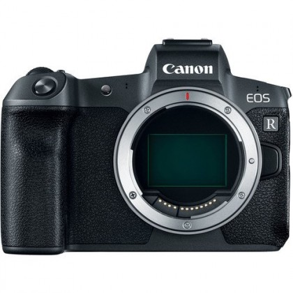 Canon EOS R Body Free Mount Adapter EF-EOS R + 64GB Ext Pro (Import)