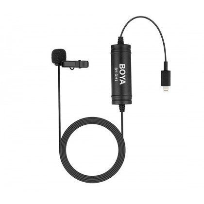 Boya BY-DM1 Digital Lavalier Microphone for smartphone with Lightning connector
