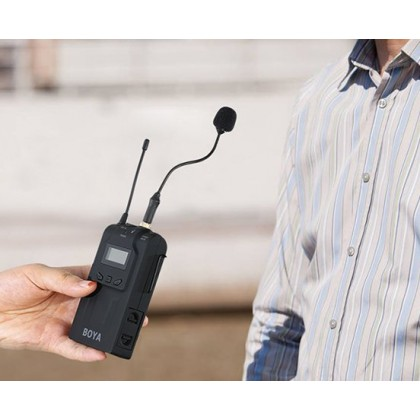 Boya BY-UM2 3.5mm Gooseneck Microphone for Wireless Lavalier Microphone