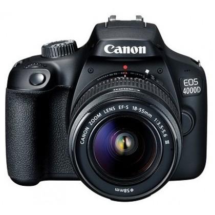 Canon EOS 4000D 18-55mm III DSLR Camera Kit +32GB+Bag (Import) (3000D)