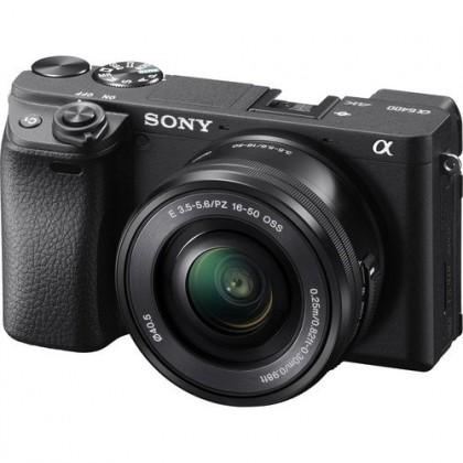 Sony A6400 16-50mm Lens Kit Mirrorless Camera +64GB (Black) Limited unit left