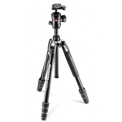 Manfrotto Befree GT Travel Aluminum Tripod with 496 Ball Head MKBFRTA4GT-BH
