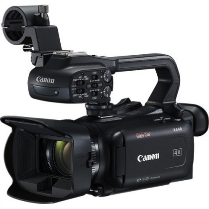 Canon XA40 Professional UHD 4K Camcorder + Extra Ori BP820 Battery (worth RM469) (MSIA) Ready Stock