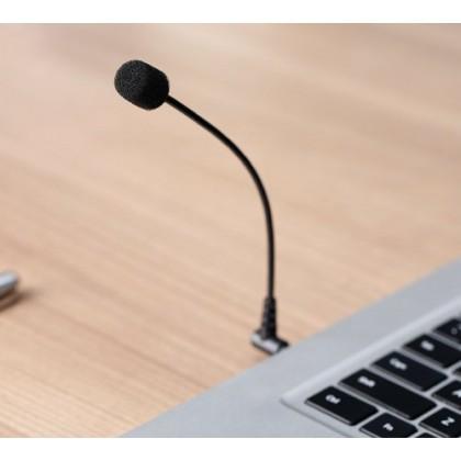 Boya BY-UM4 Gooseneck 3.5mm Mini Flexible Microphone for Smartphone Laptop