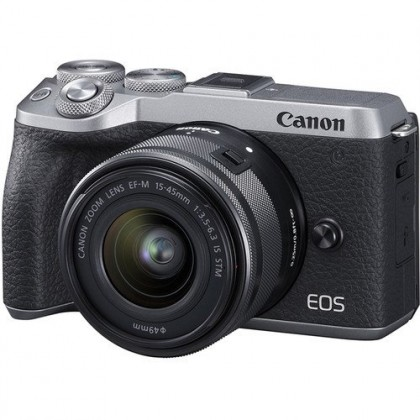 Canon EOS M6 Mark MK 2 II 15-45mm Lens 32GB+Bag (MSIA)