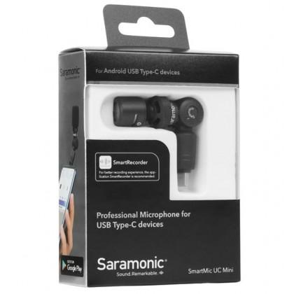 Saramonic SmartMic UC Mini Microphone for Type-C Android Smartphone Mobile Phone