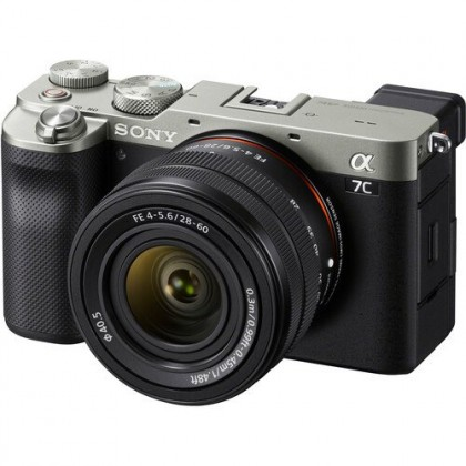 Sony A7C 28-60mm Lens Kit Mirrorless Camera +64GB + Battery