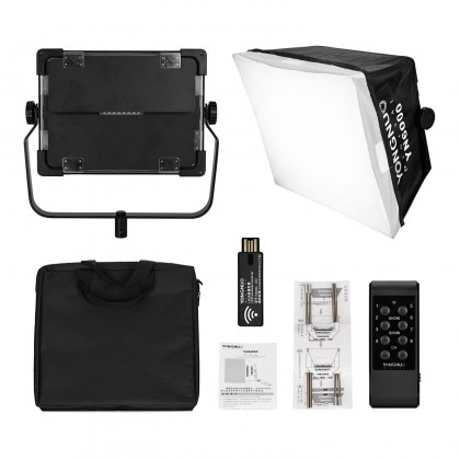 Yongnuo YN6000 Bi-Color LED Panel with Softbox and AC Adapter 2KIT